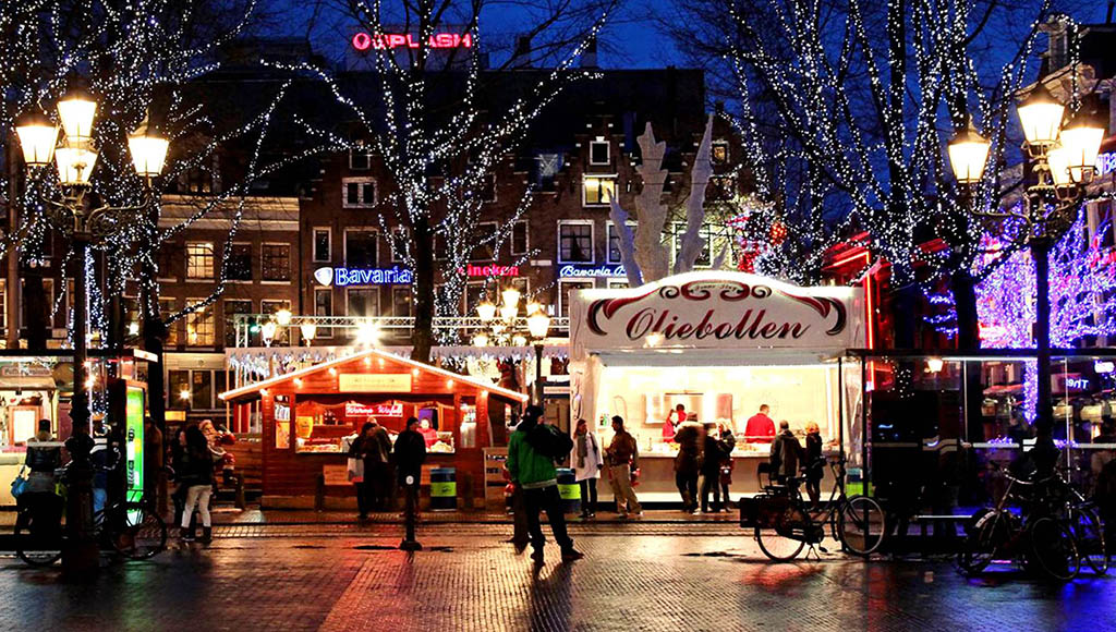 Amsterdamda yılbaşı