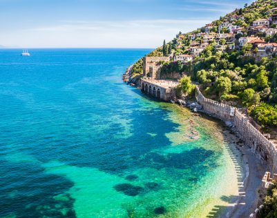 45368427 - sea beach in alanya, turkey. beautiful summer landscape