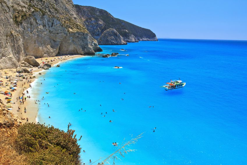 10195844 - porto katsiki beach, lefkada, greece