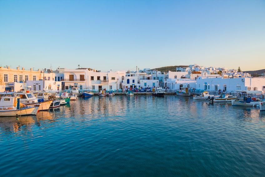 69049076 - naoussa town, paros island, cyclades, aegean, greece