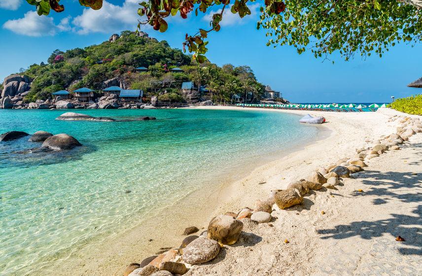 35757862 - view of nang yuan island of koh tao island thailand