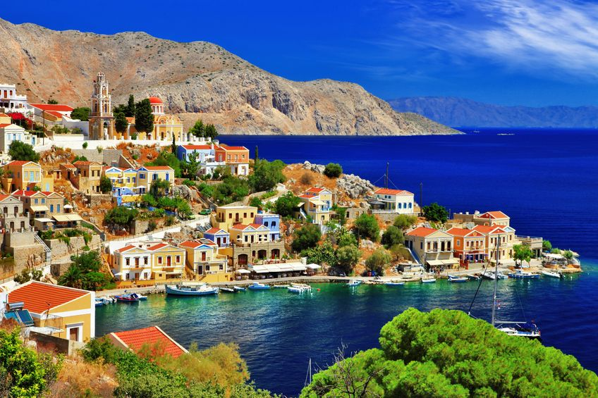 21934311 - pictorial greece - symi island, dodecanese