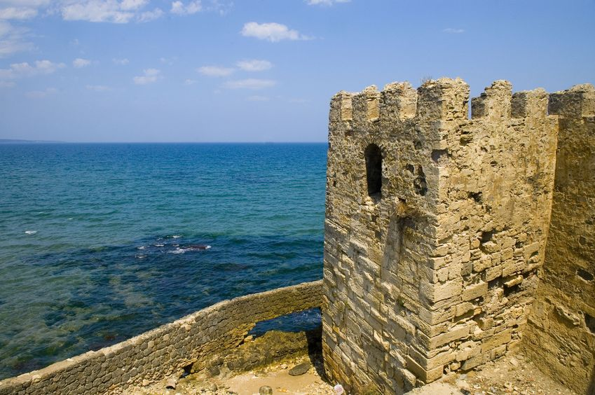 2808795 - the old turkish city of sinop near the black sea