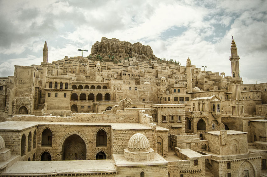 36114015 - mardin, small town near in turkey