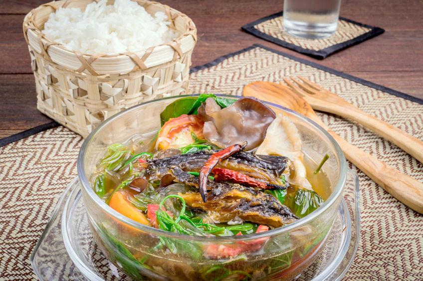 40810050 - cuisine of northern thailand, thai food(kangpakseaw)