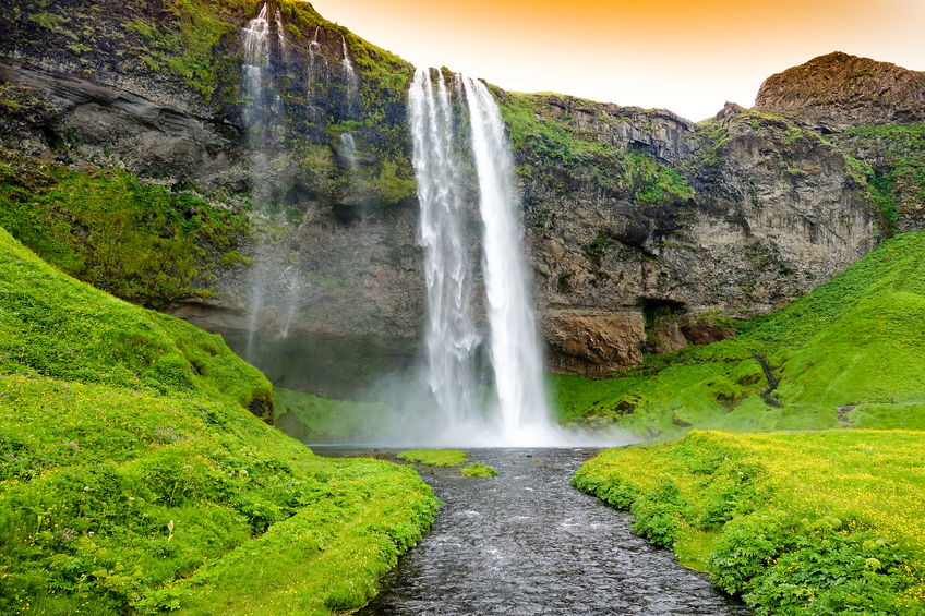 64389255 - seljandsfoss waterfall, iceland